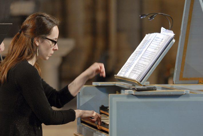 Maude-Gratton-clavecin ©Michel-Garnier