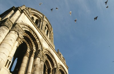 clocher-detail- vers 1120 1130 © Michel Garnier