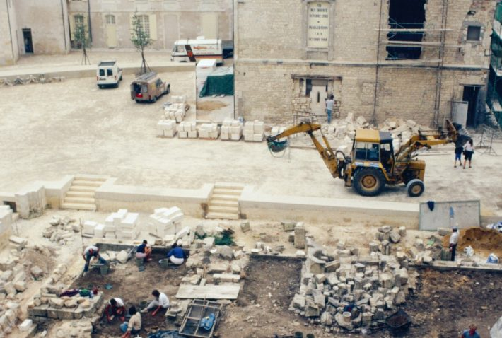 fouilles archéologiques © Christian Vernoux