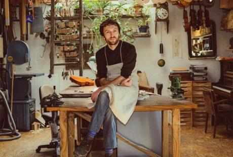 Yann Besson Luthier © Audrey Morrisson
