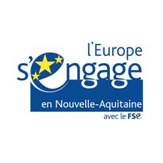 Logo Europe Nouvelle Aquitaine