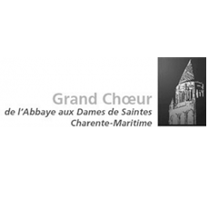 Logo Grand Chœur de l'Abbaye aux Dames de Saintes