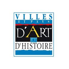 Logo Villes et Pays d''art et d'Histoire