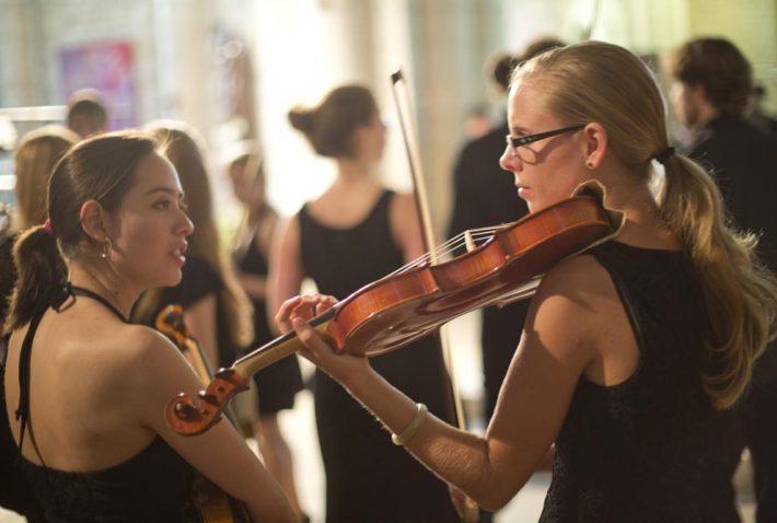 jeunes musiciens © Sébastien Laval