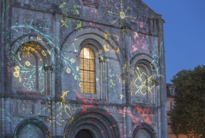 Illumination de l'Abbaye